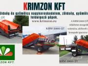 Krimzon Kft. Új és használt traktorok, zöldség és gyümölcsfeldolgozó gépek
