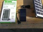 Napelemes telefontöltő többfajta mobilhoz(új)
