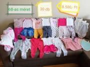 68-as kislány babára babaruha csomag eladó