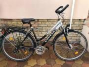 Vortex 28-as aluvázas agydinamós minőségi női Trekking kerékpár