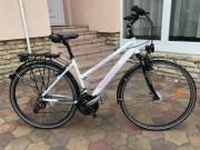 Cyco 28-as aluvázas agydinamós minőségi női Trekking kerékpár