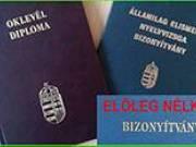 Bizonyítvány, oklevél eladó! (enagy7705@gmail.com) Diploma, érettségi, okj, nyelvvizsga bizonyítvány