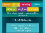 Reklámkiadványok/Könyvek/Újságok/Névjegyek tervezése tördelése