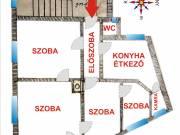 Pécsett a belváros Egyetemváros határán 1.emeleti 80m2-es lakás eladó!, Hungária utca