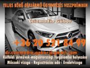 Külföldi járművek forgalomba helyezése Veszprémben!