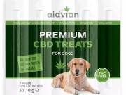 AIDVIAN Premium CBD Dog Treats 30 mg 50 g (5 db) - Aidvian