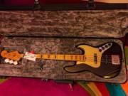 The new Fender USA Ultra Jazz Bass Texas Tea 2020
