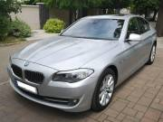 BMW 520d automata, nagy Navi, full extrás, bőr belsővel